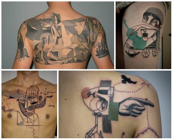 tatuaggi cubisti accademia del lavoro 6