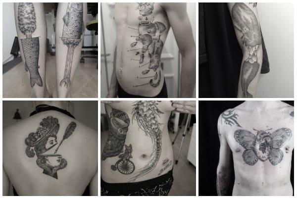 tatuaggi surrealisti accademia del lavoro 2