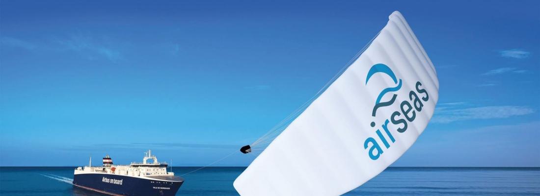 Seawing: da Airbus un aquilone che traina le navi per ridurre costi ed emissioni