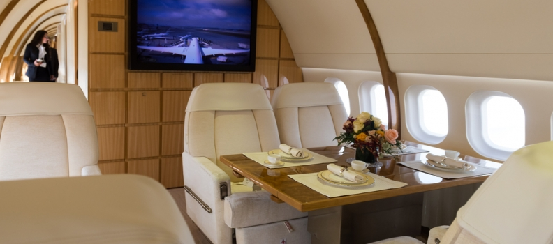 L'aereo più lussuoso al mondo: un volo da principi