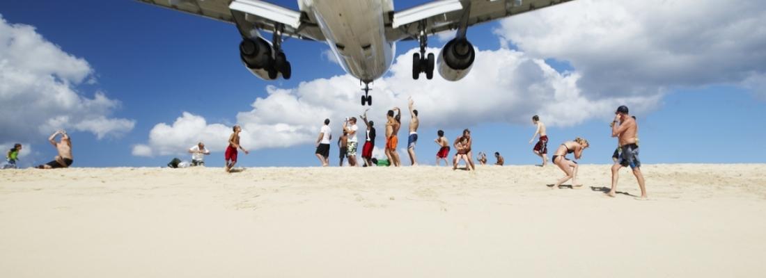 Ai Caraibi uno degli aeroporti più incredibili al mondo