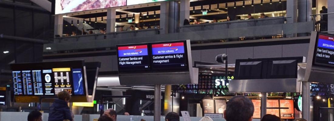 Heathrow Airport a Londra: un aeroporto dove trascorrere una giornata