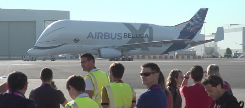 """Beluga XL, inaugurata la """"balena dei cieli"""" di Airbus"""