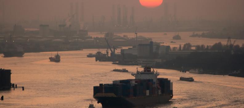Rotterdam, uno dei porti più grandi al mondo