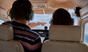 El vuelo, las reglas generales del aire: precedencia y adelantamientos.